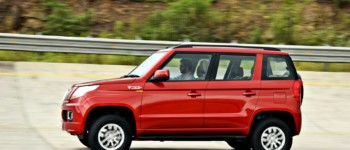 Mahindra TUV300 RED action (3)