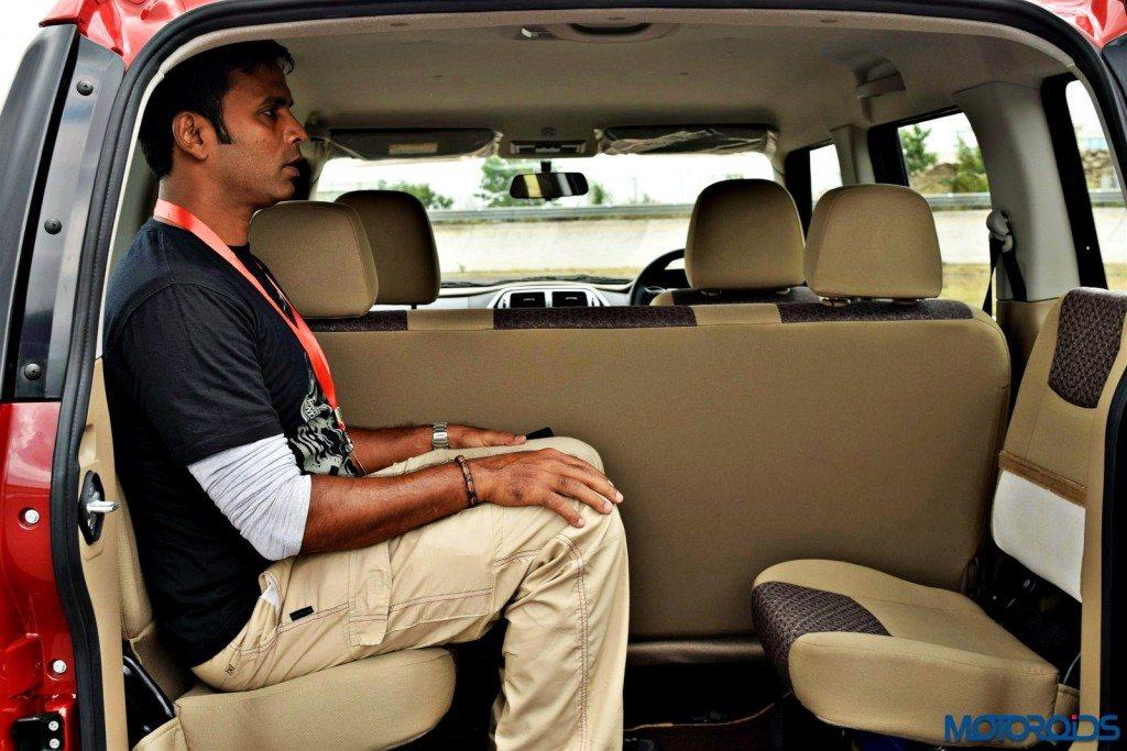 Mahindra TUV300 jump seats
