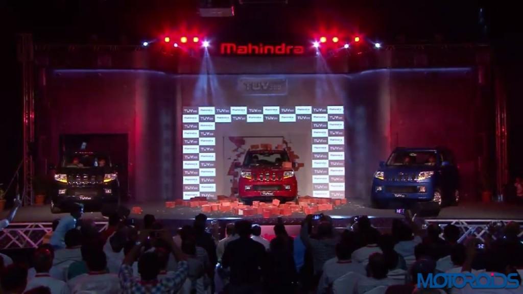 Mahindra TUV300 launch - LIVE updates (19)