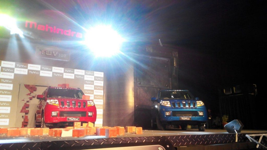 Mahindra TUV300 launch - LIVE updates (26)