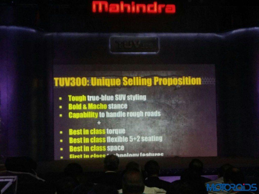 Mahindra TUV300 launch - LIVE updates (7)