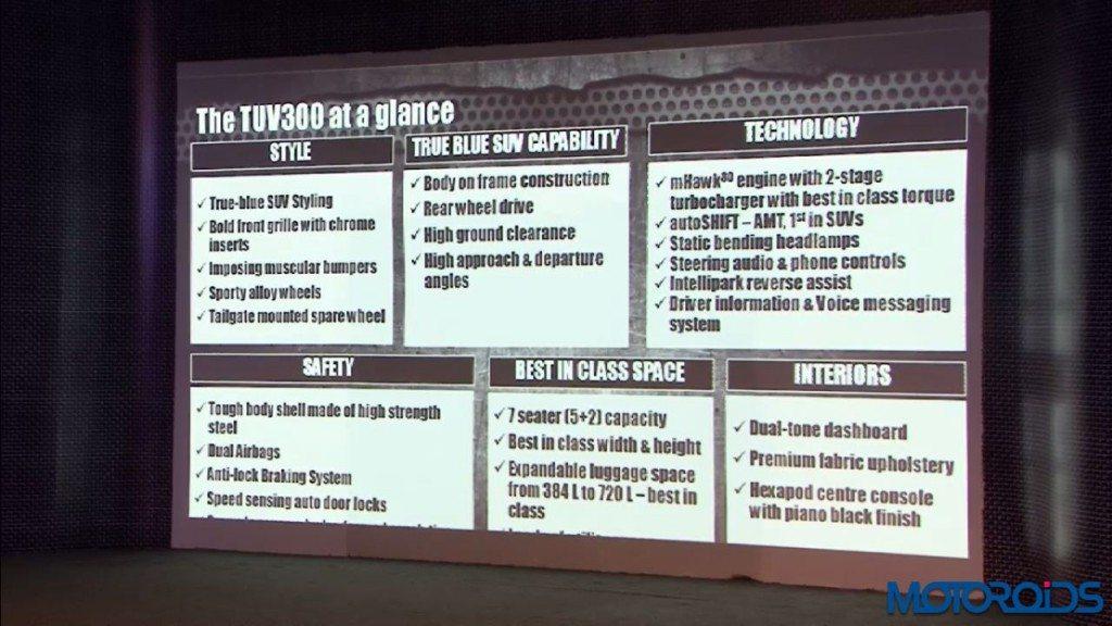 Mahindra TUV300 launch - LIVE updates (9)