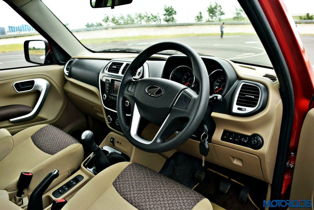 Mahindra TUV300 steering wheel dashbaord