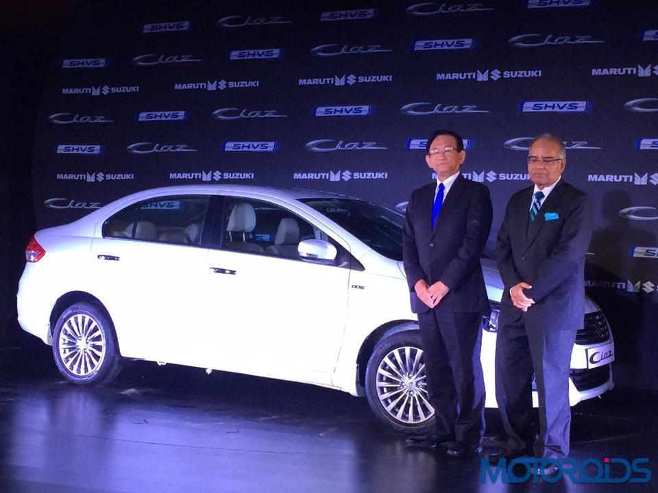 Maruti Suzuki Ciaz Smart Hybrid Launch (3)