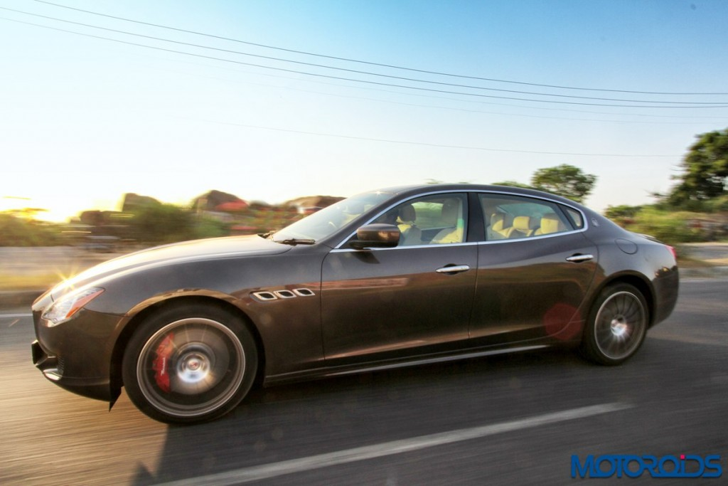 Maserati Quattroporte GTS India action (3)