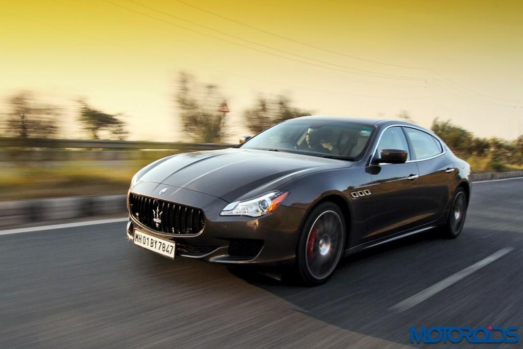 Maserati Quattroporte GTS India action (4)