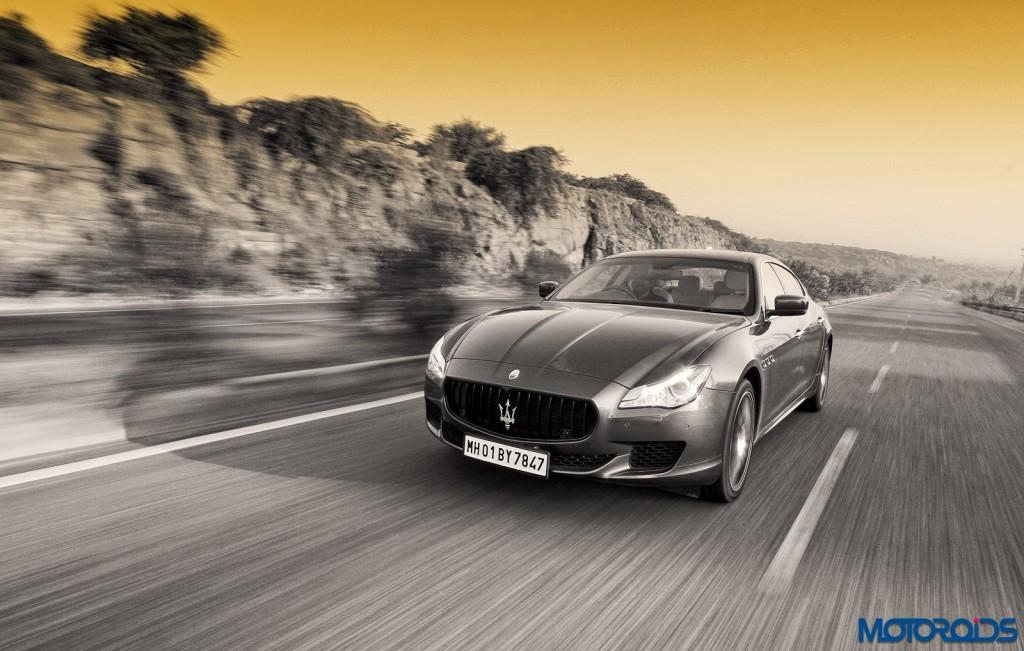 Maserati Quattroporte GTS India action (6)