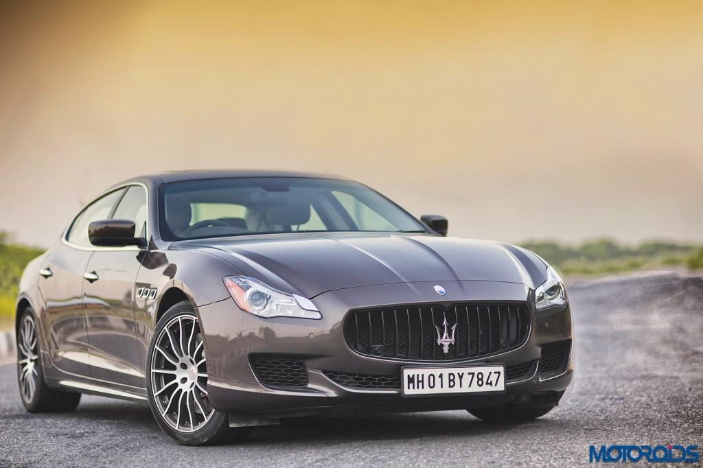 Maserati Quattroporte GTS front (1)