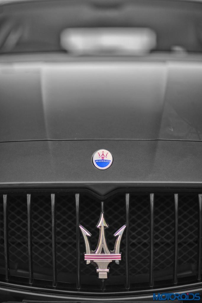 Maserati Quattroporte GTS front grille