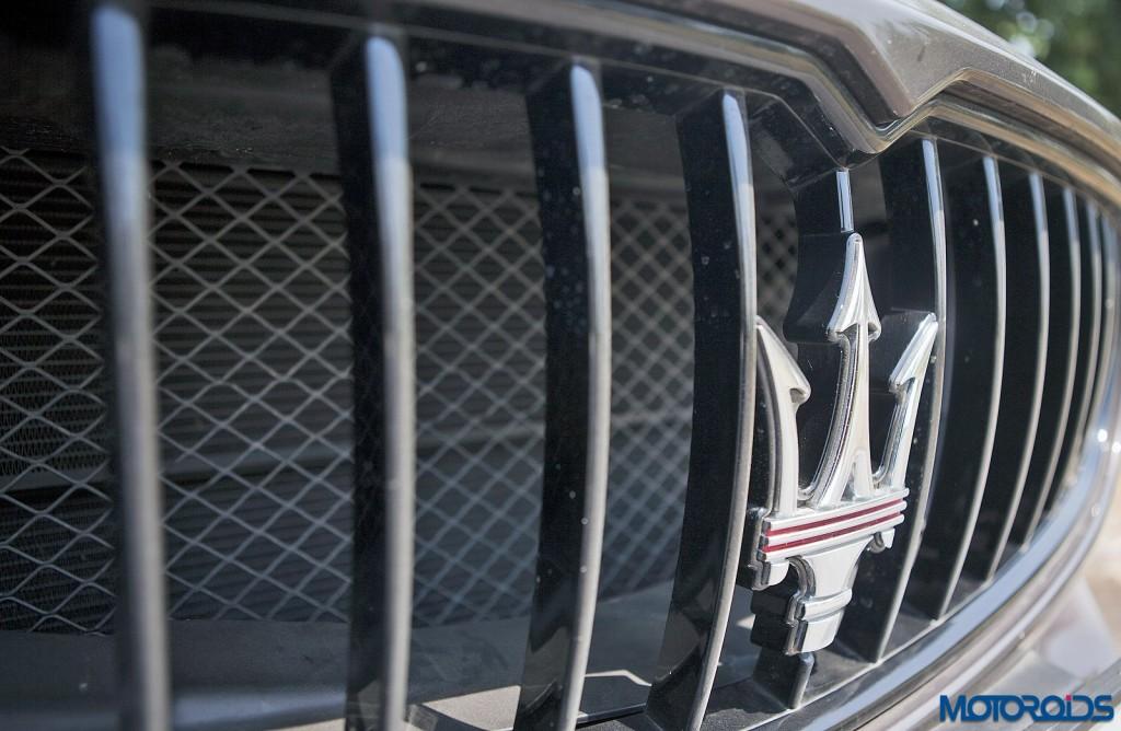 Maserati Quattroporte GTS grille