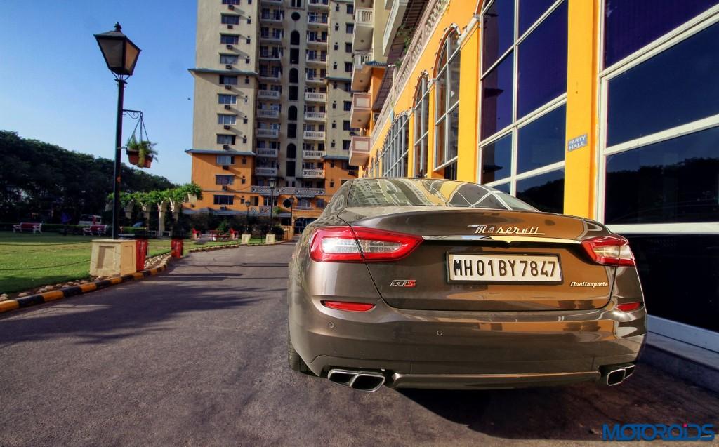 Maserati Quattroporte GTS side and rear (3)