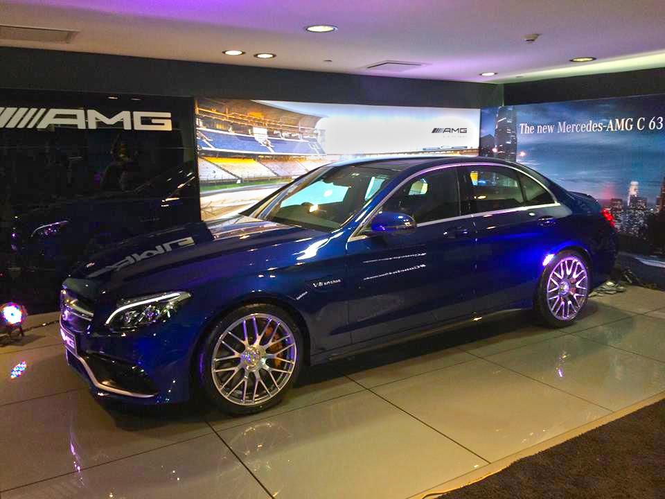 Mercedes-AMG C 63 S India