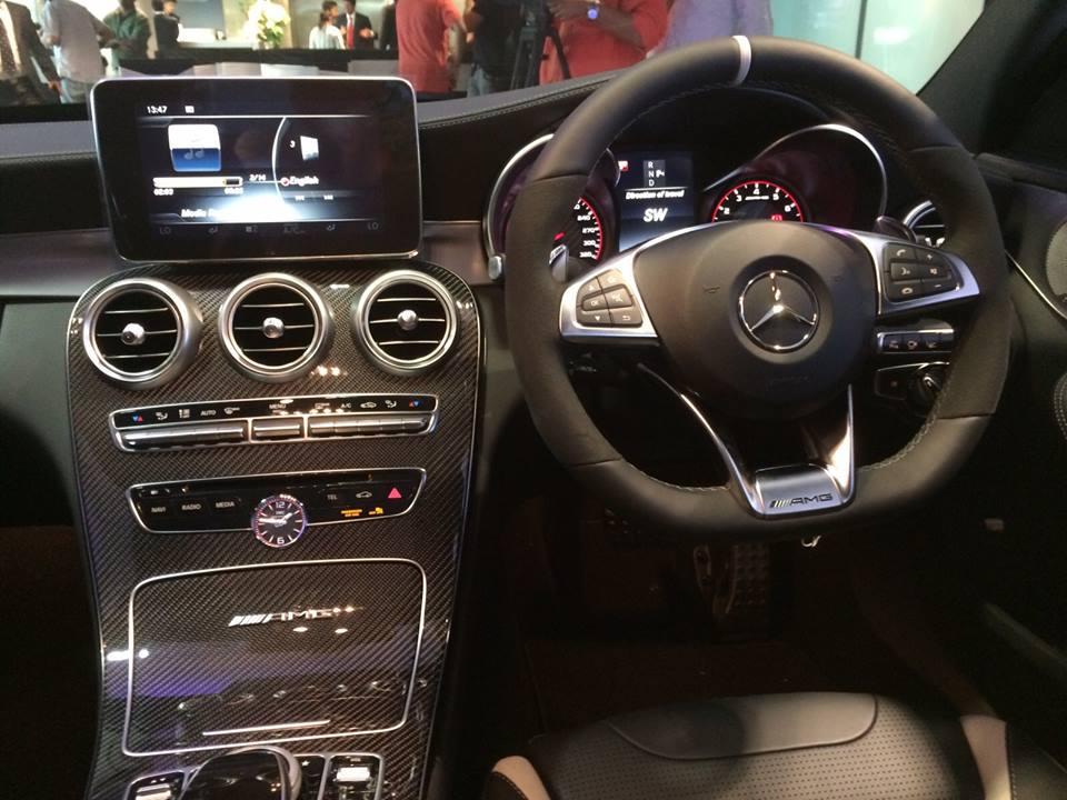 Mercedes-AMG C 63 S Interior (3)