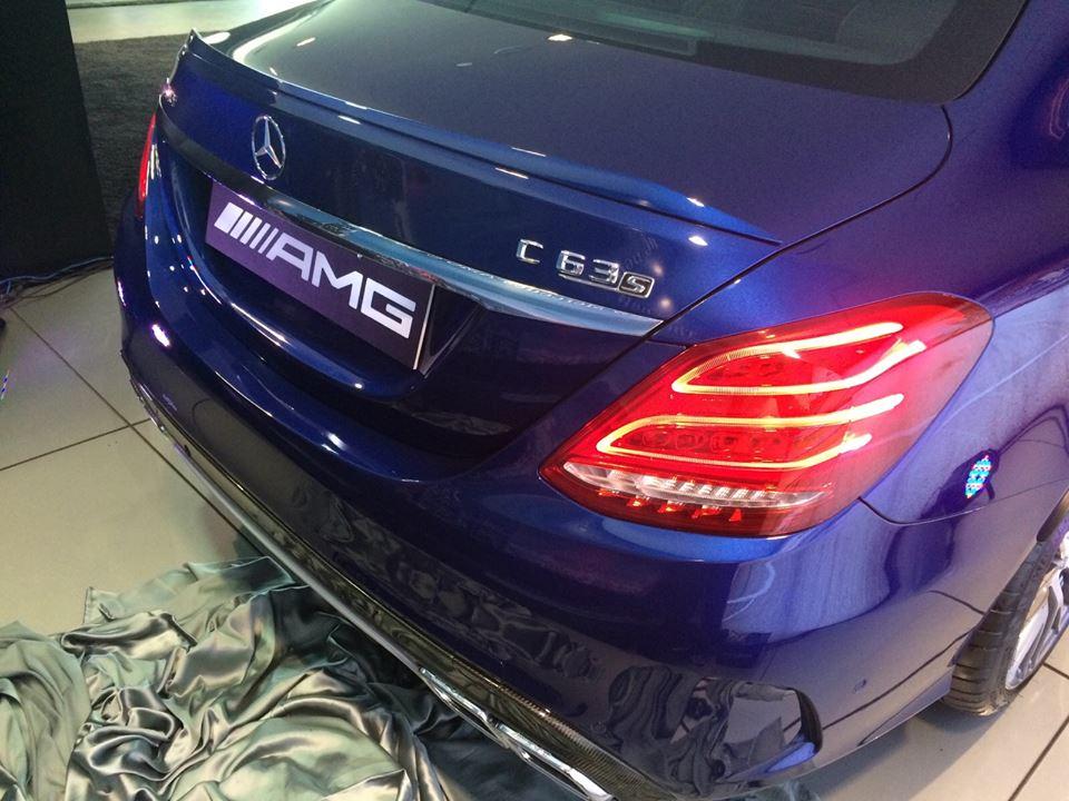 Mercedes-AMG C 63 S rear