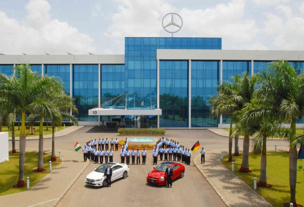 Mercedes-Benz India commences the local production of CLA in India (1)
