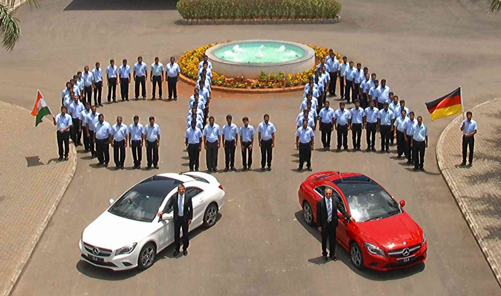 Mercedes-Benz India commences the local production of CLA in India (3)