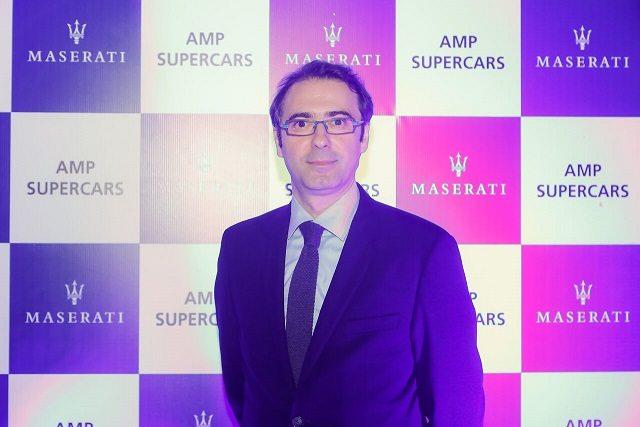 Mr Bojan Jankulovski, Maserati India