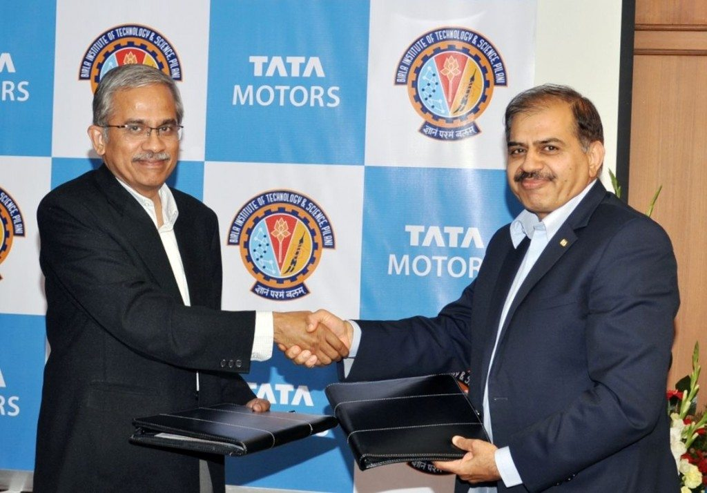 Tata Motors partners with Birla Institute of Technology & Science (2)