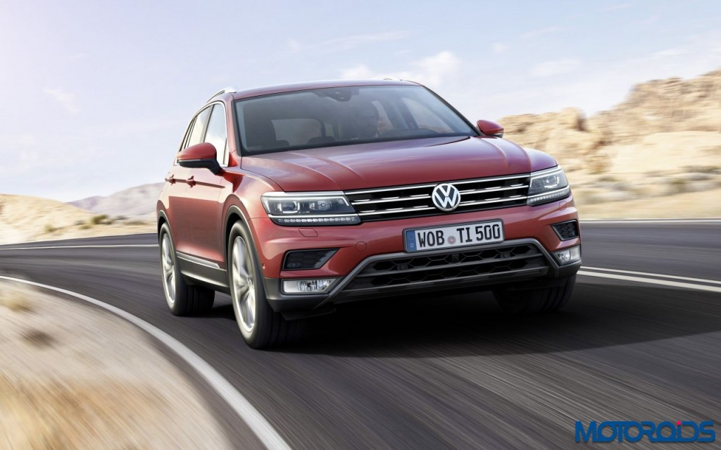 New 2016 Volkswagen Tiguan to be premiered at the International Motor Show in Frankfurt