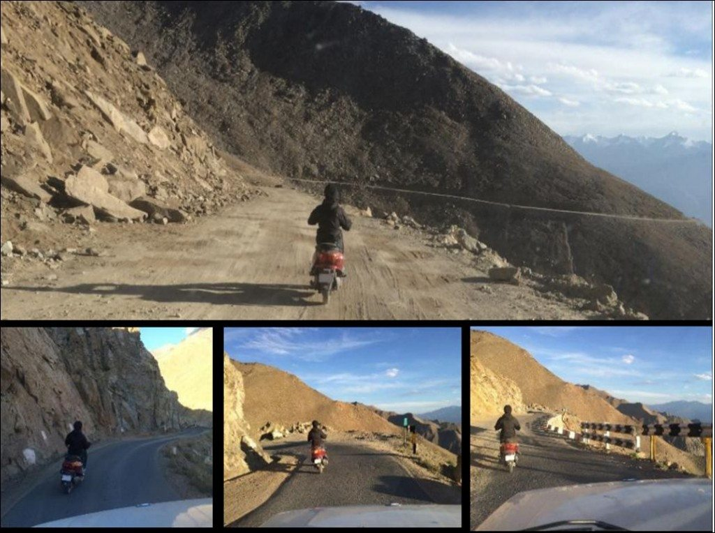 YObykes electric scooters conquer the highest known motorable road - Khardung La (6)