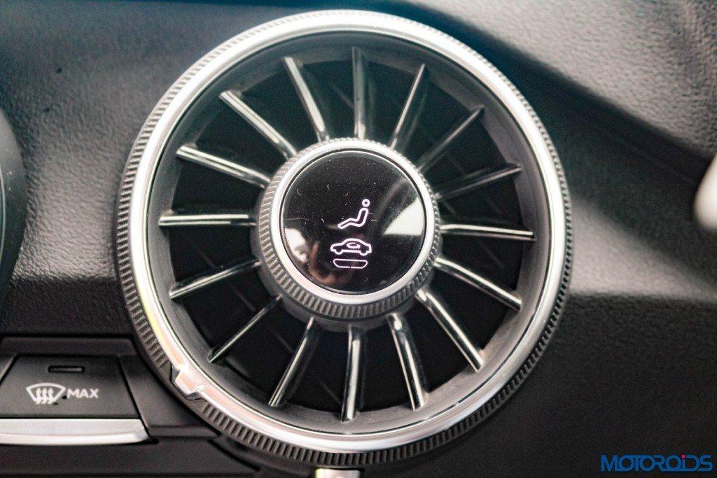 new 2015 Audi TT ac vents (2)