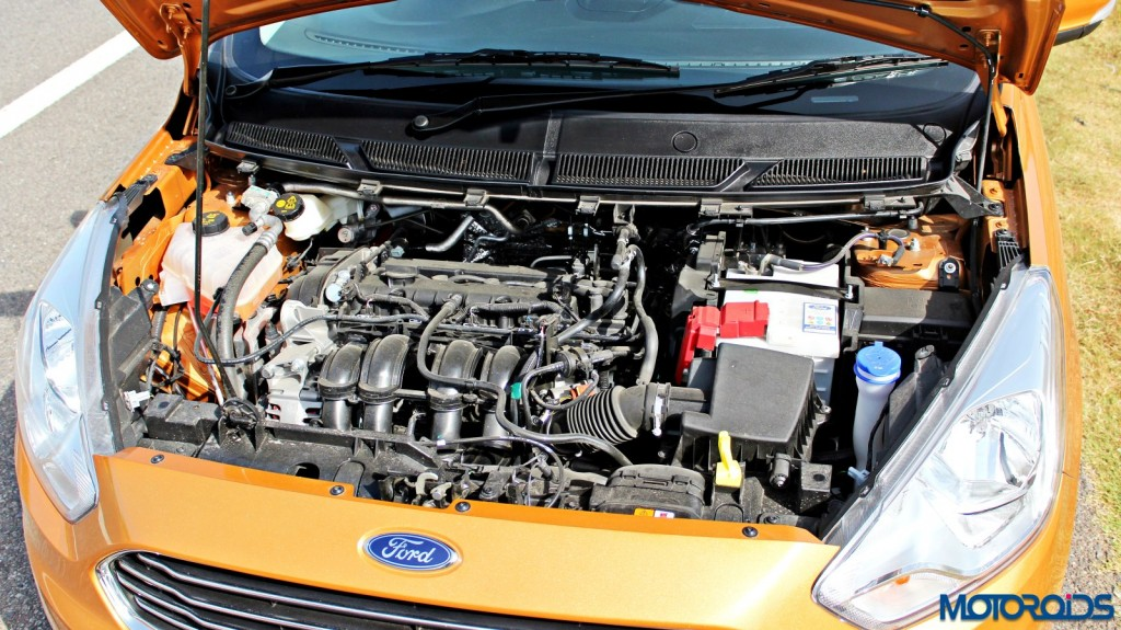 new 2015 Ford Figo 1.5 petrol engine