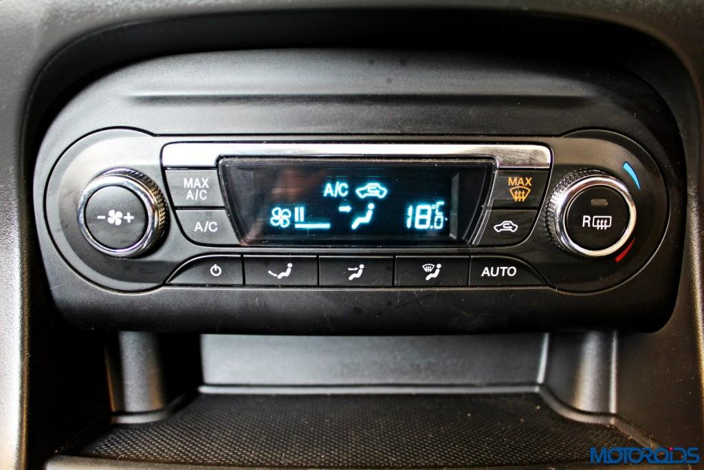 new 2015 Ford Figo AC panel