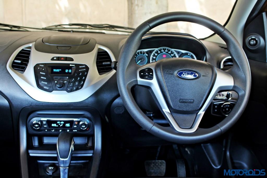 new 2015 Ford Figo autmatic steering wheel