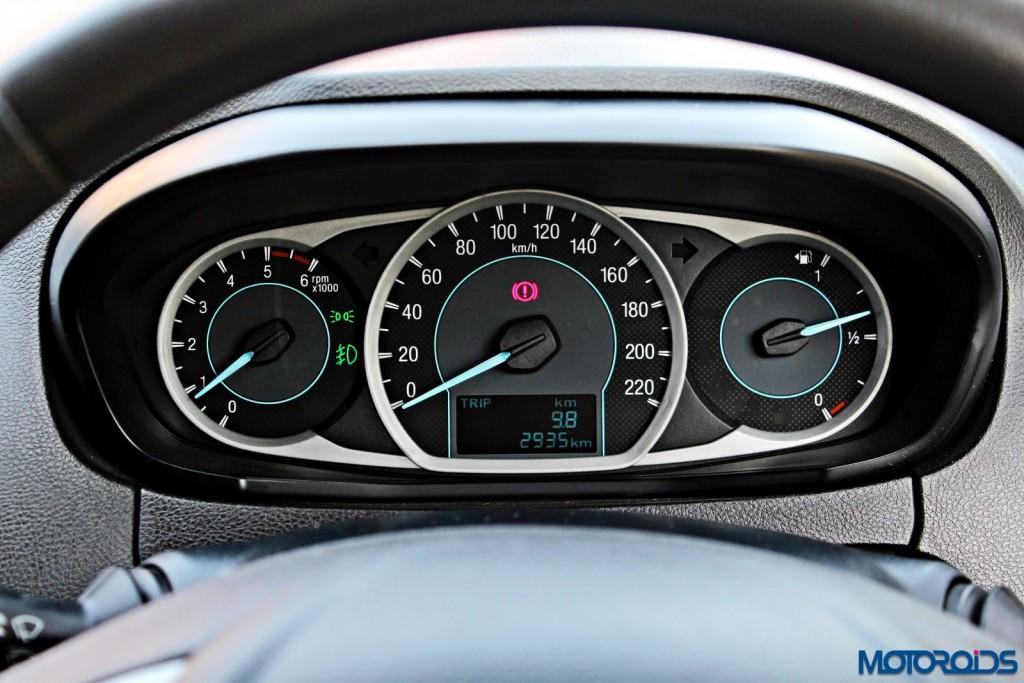 new 2015 Ford Figo diesel instruments