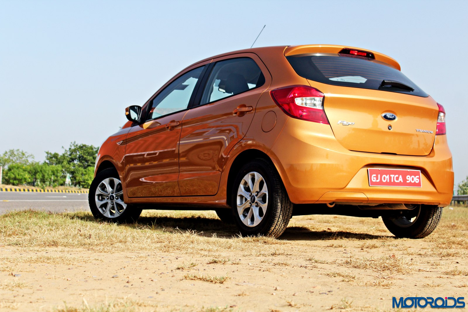 new 2015 Ford Figo rear (1)