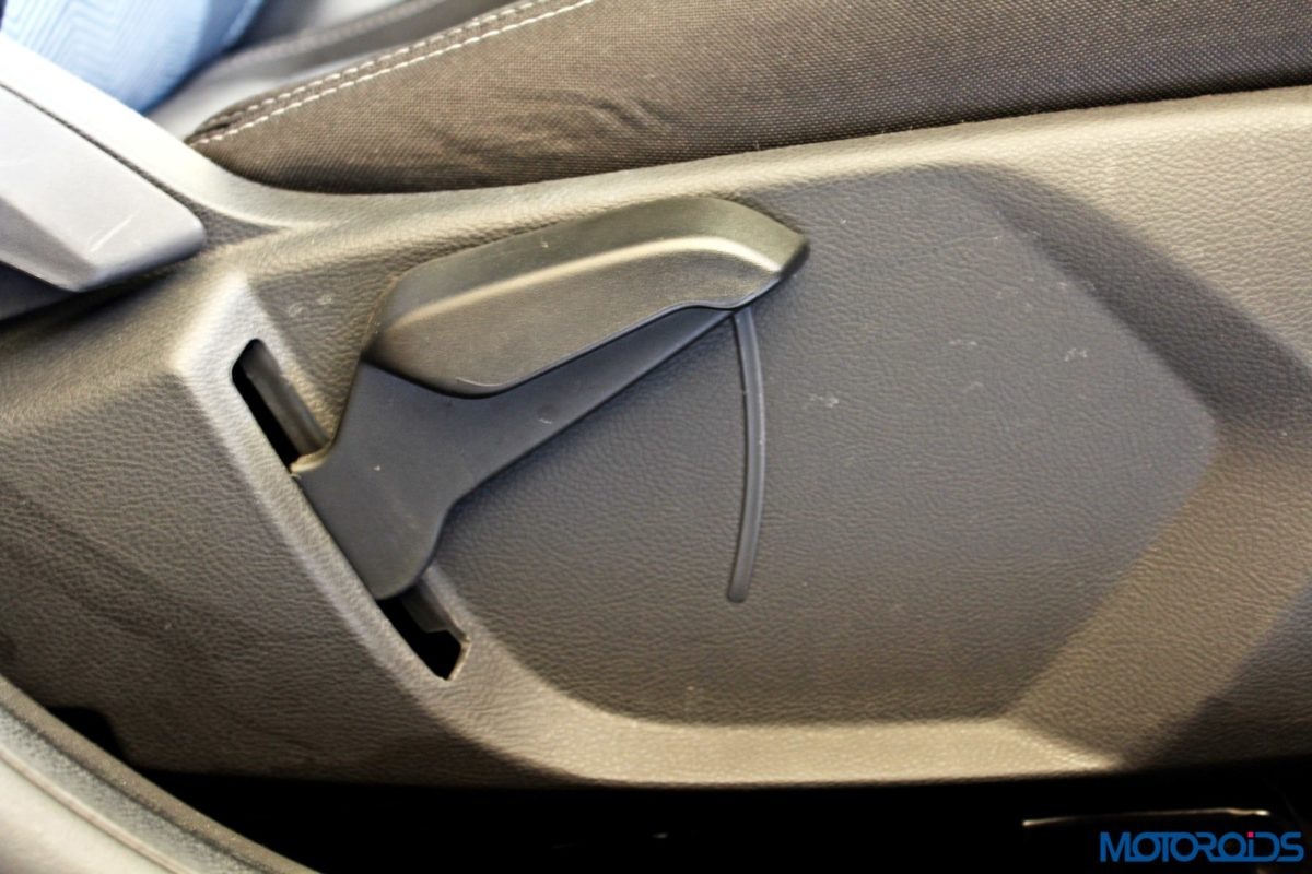new 2015 Ford Figo seat height adjust