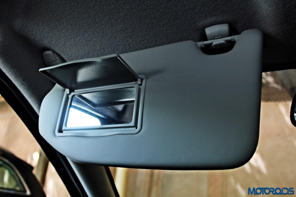 new 2015 Ford Figo vanity mirrors