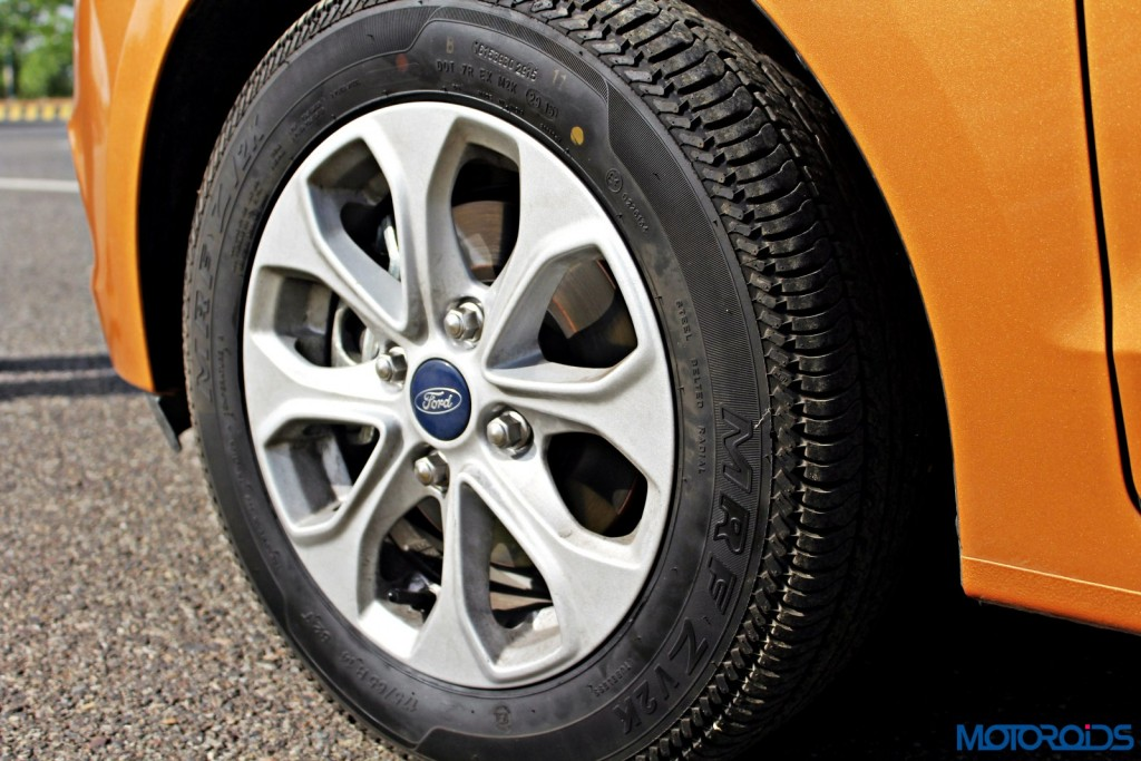 new 2015 Ford Figo wheels tyres