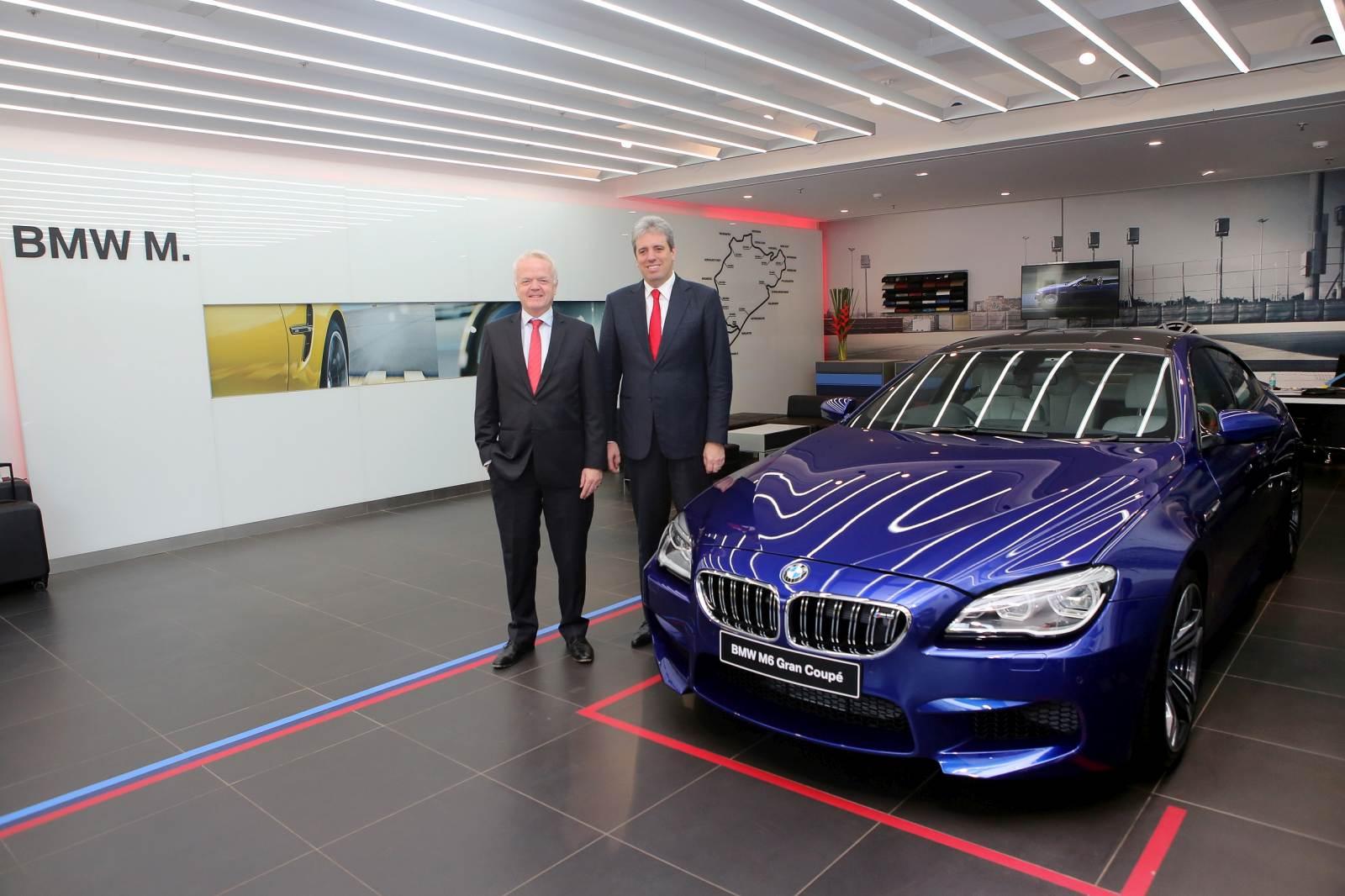 02 (L-R) Mr. von Sahr and Dr. Schlipf at BMW M Studio