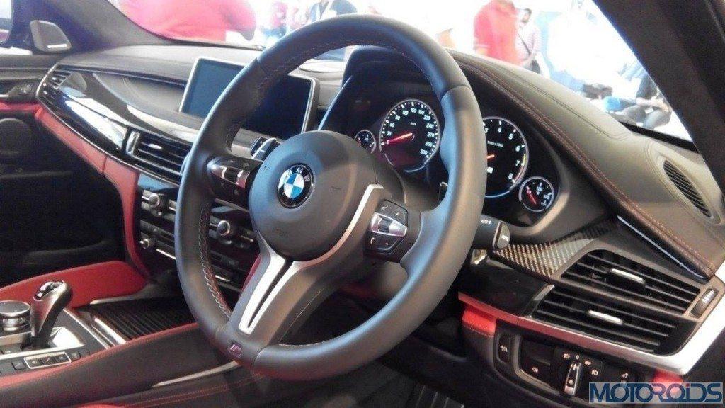 2015 BMW X6 M Interior (1)