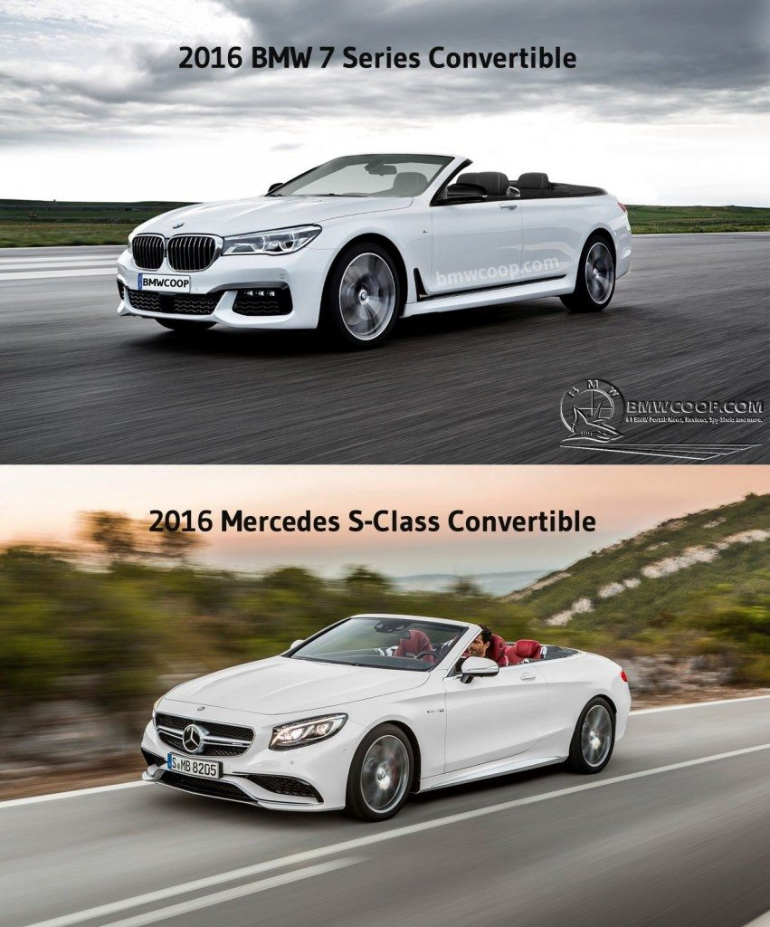 2016 BMW 7-Series Convertible Render - 2