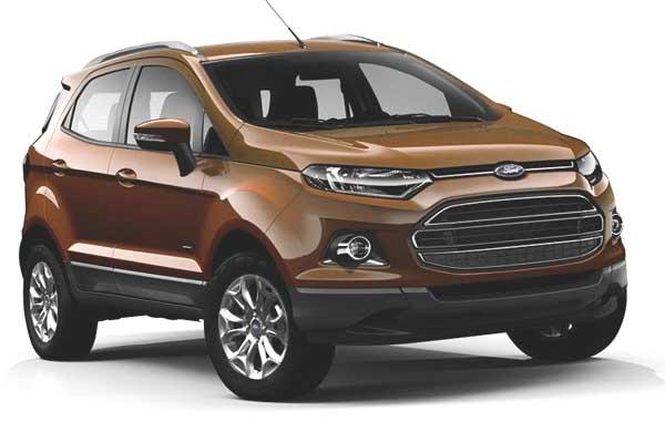 2016 ford ecosport update to get 100 ps diesel engine new features and variants listed motoroids. Black Bedroom Furniture Sets. Home Design Ideas