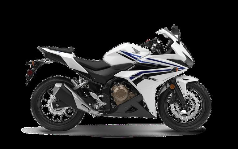 2016 Honda CBR500R Pearl White