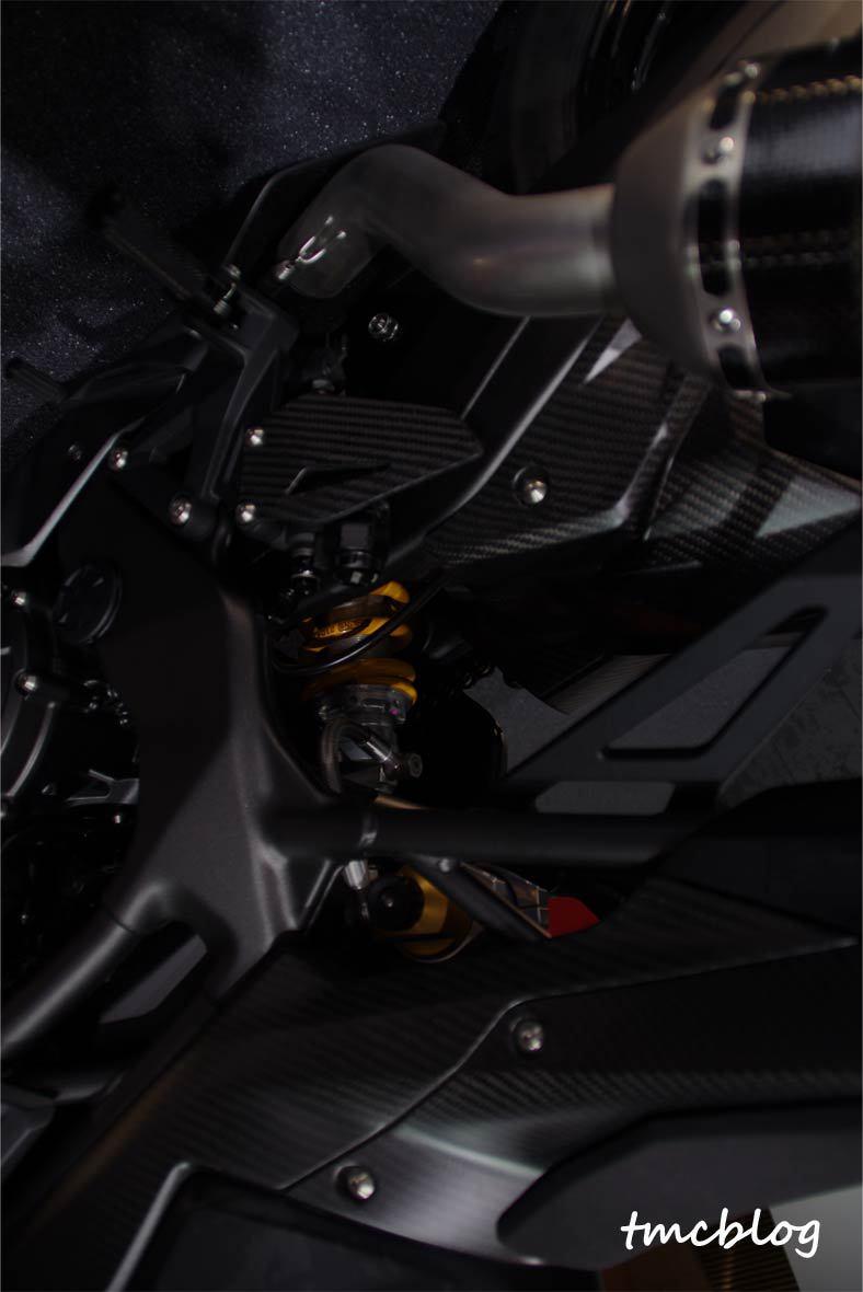 2016 Honda cbr250rr ohlins rear suspension