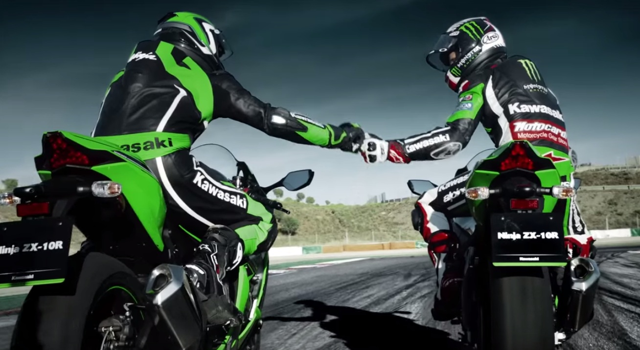 Video Check Out The New 2016 Kawasaki Ninja Zx 10r In Track
