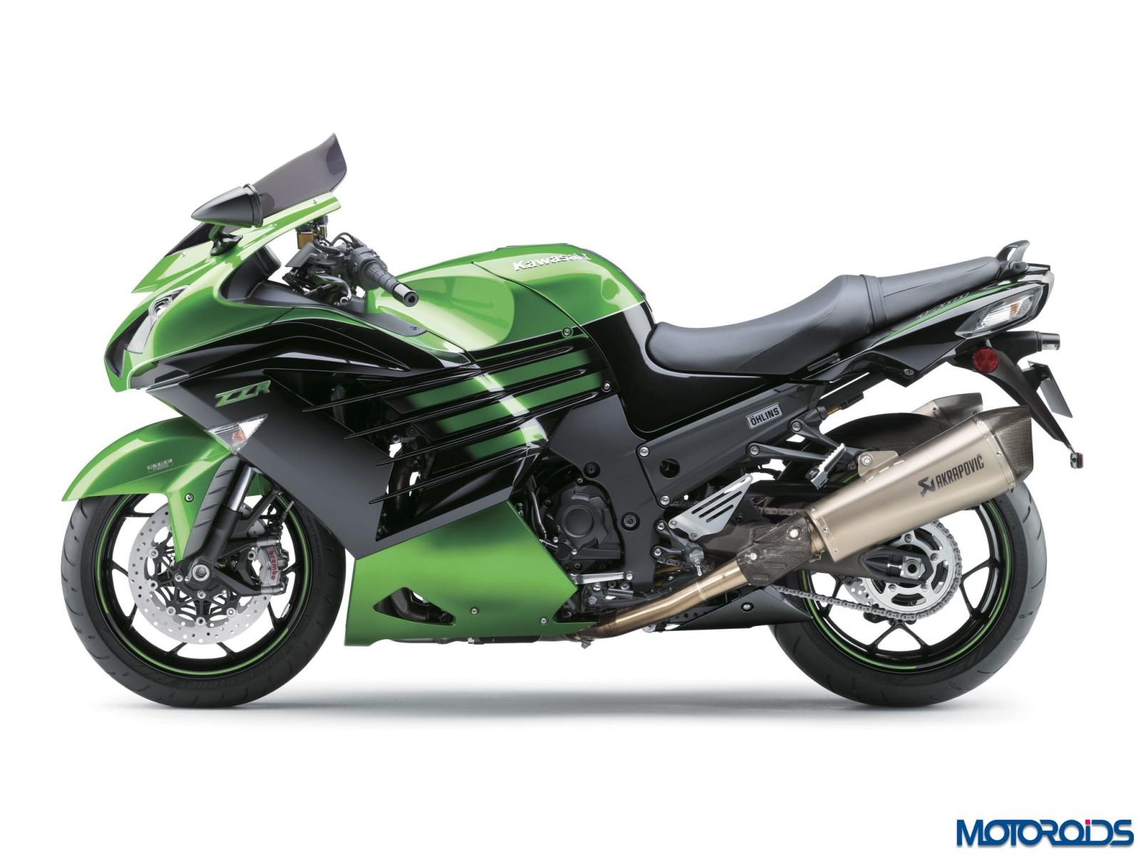 Video Meet The 2016 Kawasaki Ninja Zx 14r Performance Sport moreover Zx10r 2016 Mgp Exhaust together with Kawasaki Ninja Zx 14 2010 moreover Z800 Zr800a Z800e 13 14 15 16 Exhaust Link Pipe And 350mm Round Gp Style Stainless Steel Silencer 20575 P likewise 2511 Zx10 Shock Conversion 4. on kawasaki zx 14 modifications