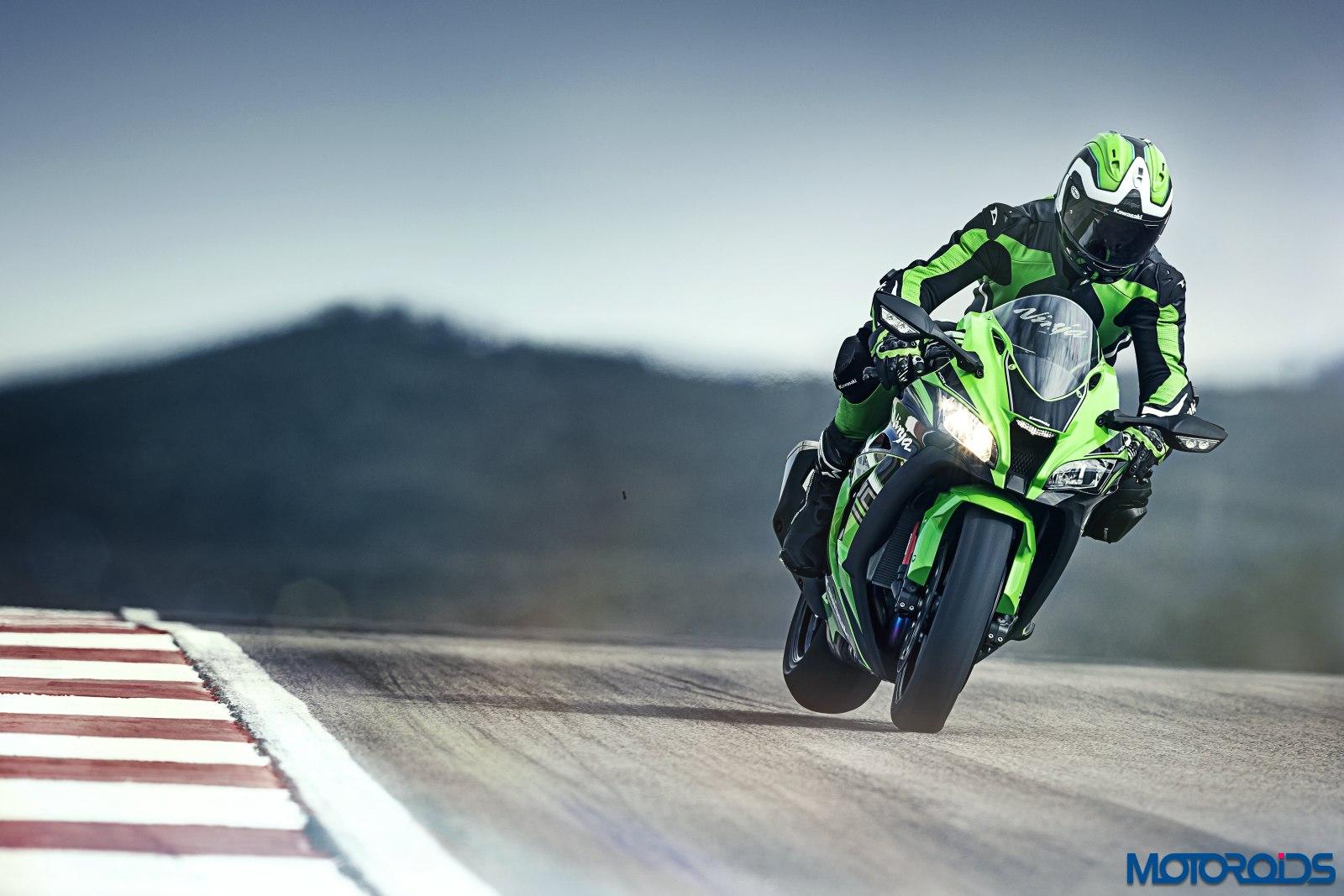 New 2016 Kawasaki Ninja Zx 10r Zx 14r Silently Ride Into India