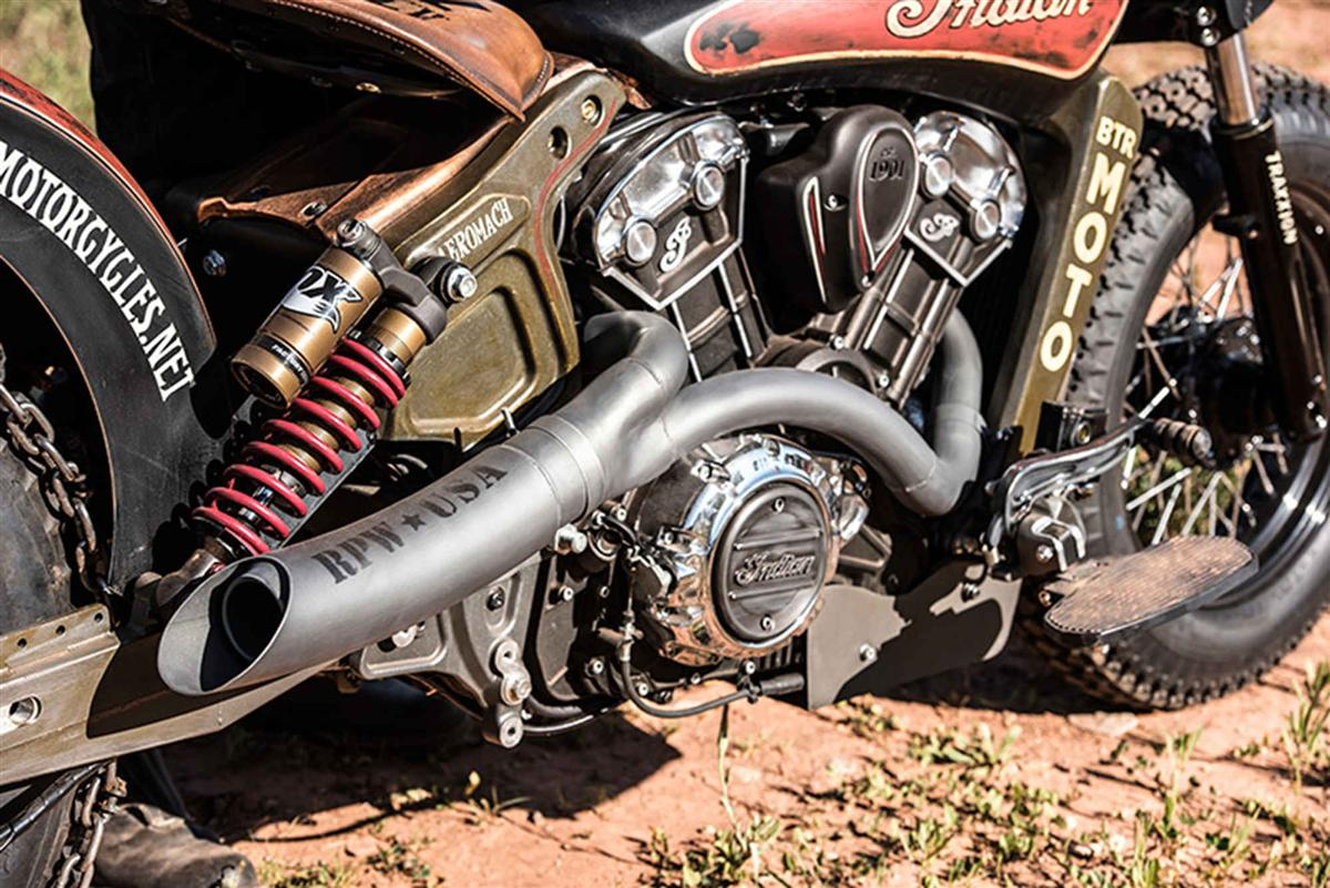 Black Hills Beast- Custom Indian Scout (7)