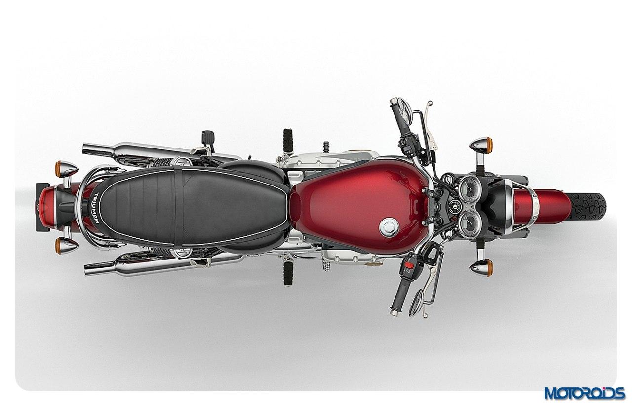 Bonneville-T120-Cinder-Red-Overhead