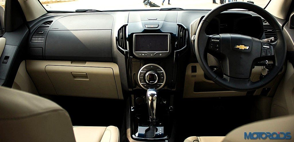 Chevrolet Trailblazer Dashboard