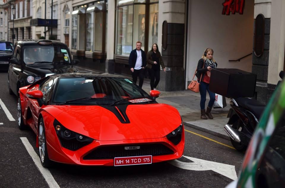Video Dc Avanti Spotted Prowling Around London Motoroids