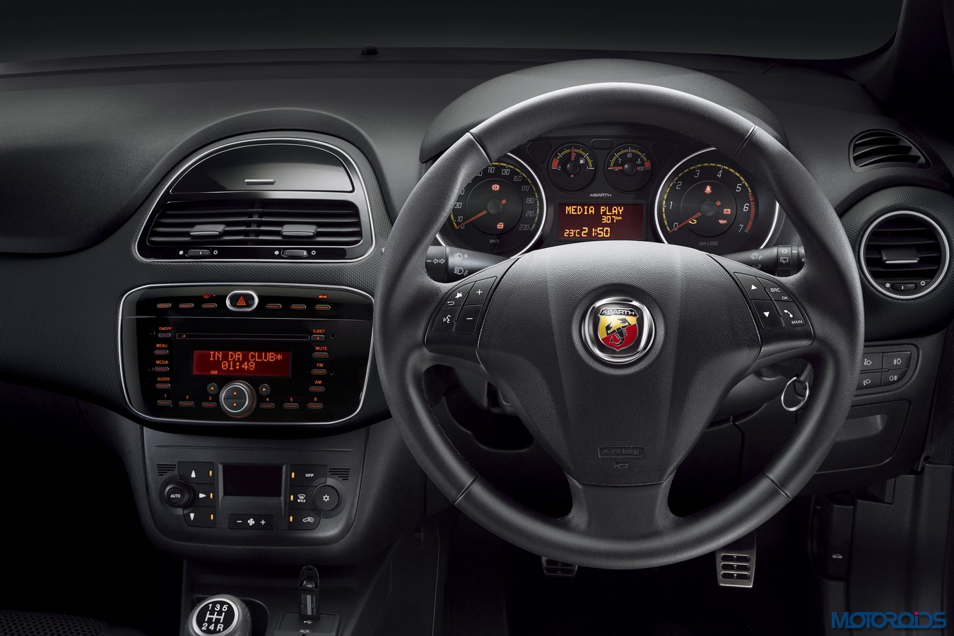 Fiat Abarth Punto Interior 2