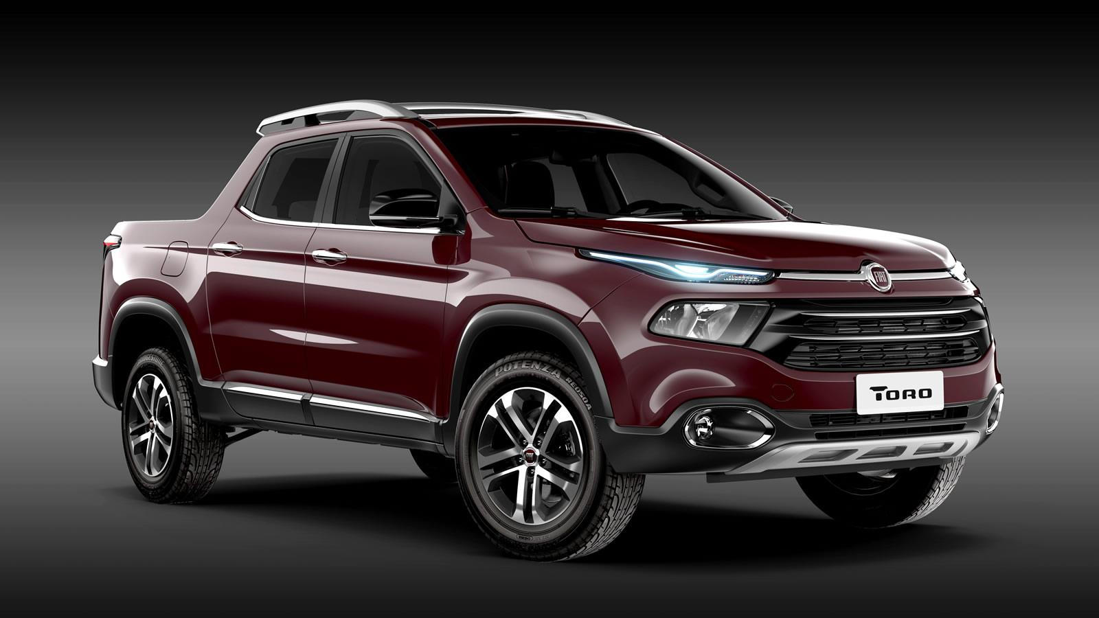 This is the all-new Fiat Toro pick-up