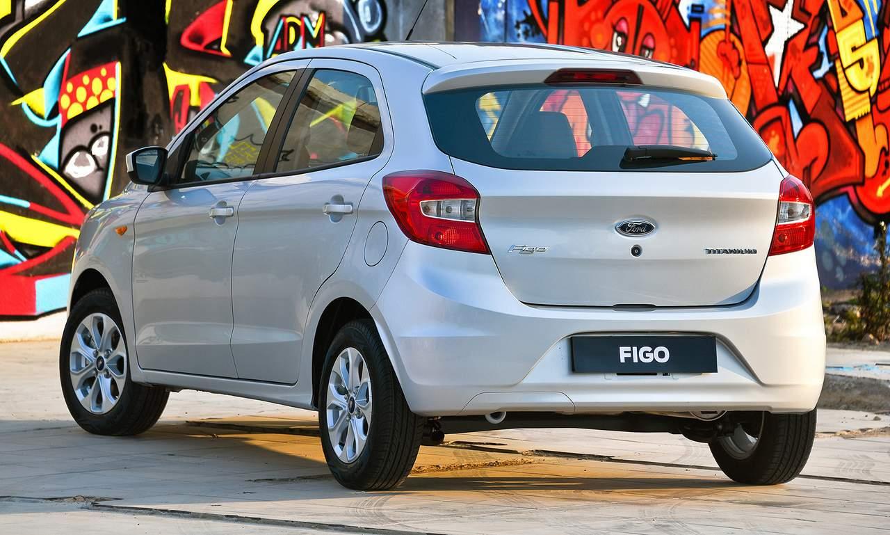India Made Full Size Ford Figo Sedan Along With