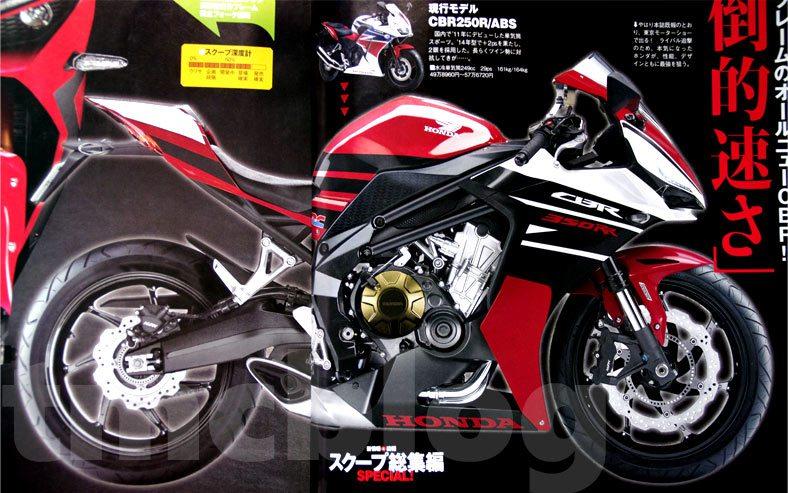 Honda CBR350RR - Render - 1